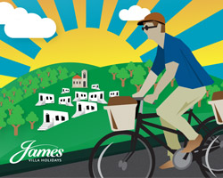 The James Villa Holiday Cycling Guide to top destinations